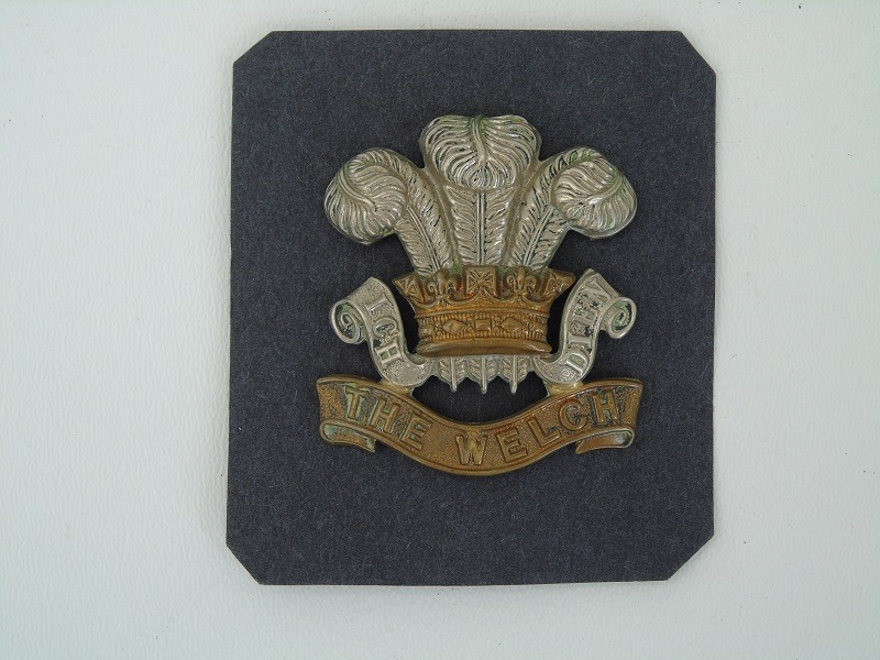 Welch Regiment Badge